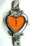 Heart Orange Face Watch  Click to enlarge