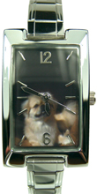 Tibetan Spaniel Face Watch  Click to enlarge