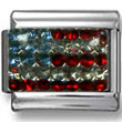 American Flag Zirconia  Click to enlarge
