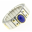 Lapis Oval Stone Zoppini Ring  Click to enlarge