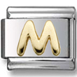 Disney letter M Italian charm  Click to enlarge