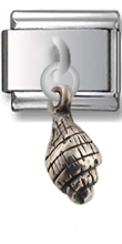 Shall Sterling Silver Italian Charm  Click to enlarge